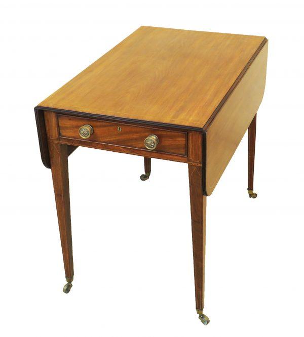 Georgian 18th Century Mahogany Pembroke Table