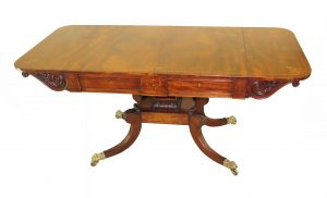 Regency Mahogany 19th Century Sofa Table