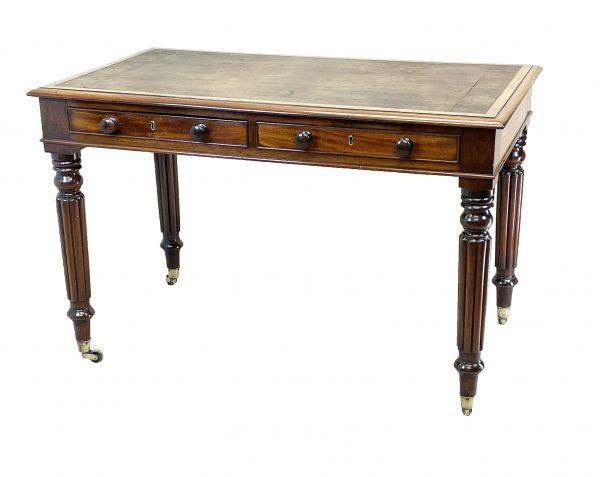Regency Mahogany 19th Century Writing Table