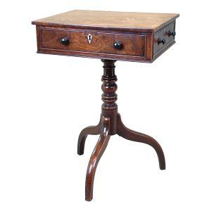 Georgian Mahogany Oblong Lamp Table