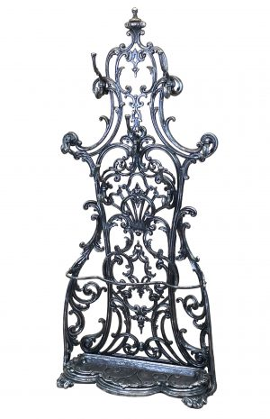 Cast Iron Victorian Coalbrookdale Hallstand